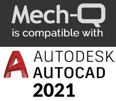 Mech-Q now works with all versions of AutoCAD