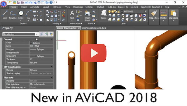 What's New AviCAD 2018